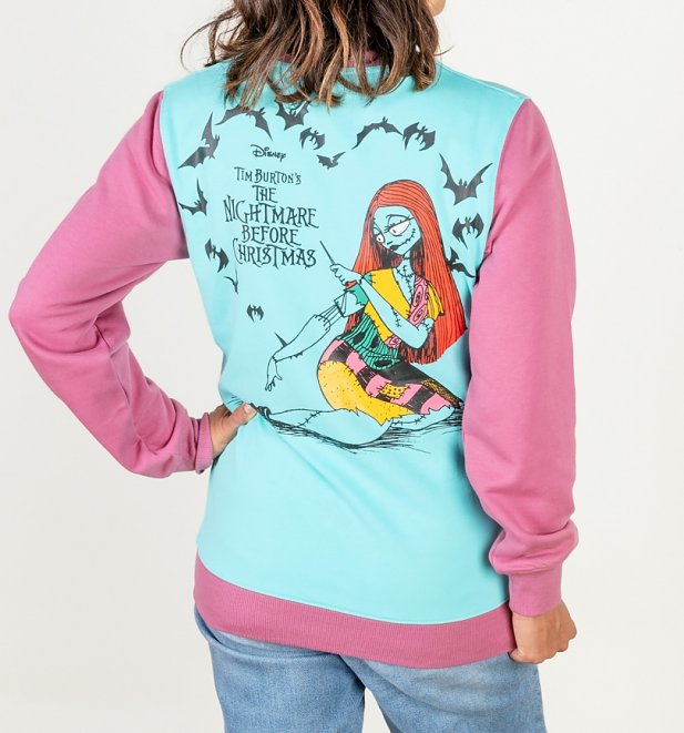 Disney The Nightmare Before Christmas Sally Colour Block Sweater from Cakeworthy