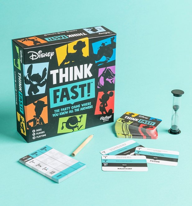 Disney Think Fast Party Game