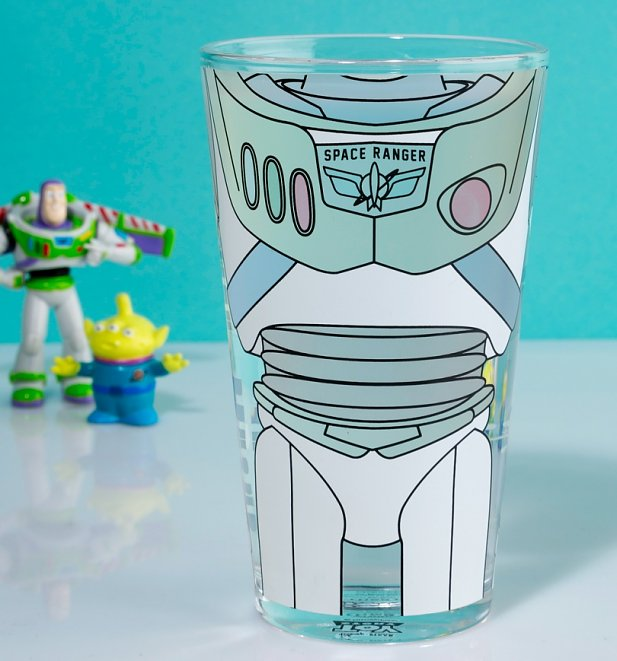 Disney Toy Story Buzz Lightyear Colour Change Glass