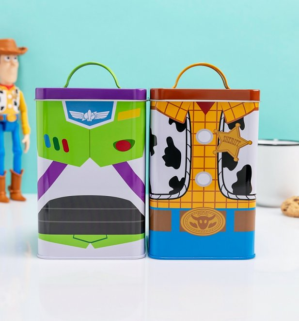 Disney Toy Story Set Of Two Woody And Buzz Storage Tins from Funko