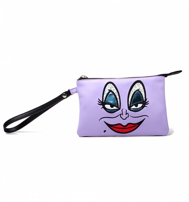 Disney Ursula The Little Mermaid Pouch Wallet