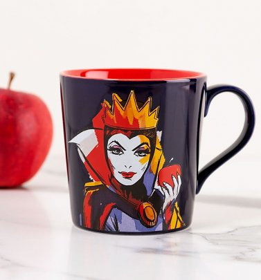 Disney Villains Maleficent Evil Queen Rotten To The Core Tapered Mug