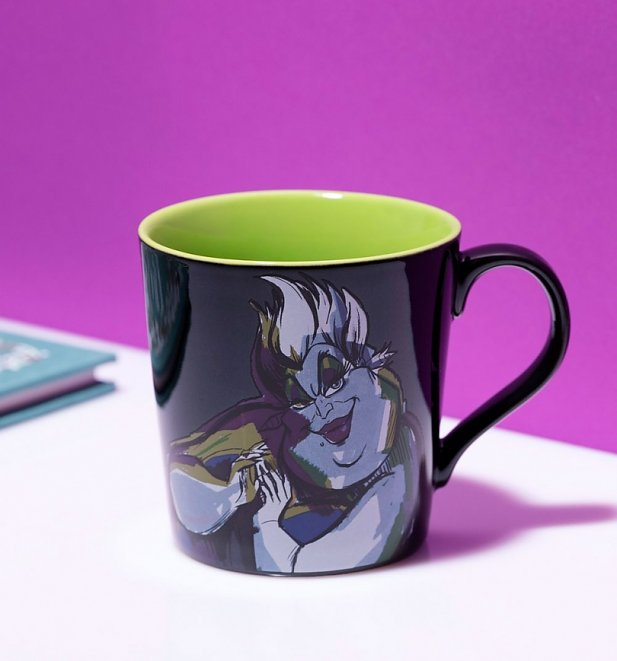 Disney Villain Little Mermaid Ursula Out Of My Way Tapered Mug