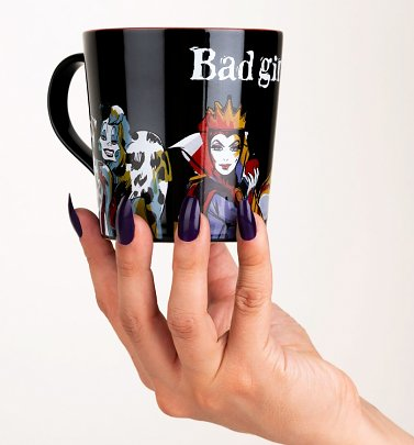 Disney Villains Bad Girls Tapered Mug
