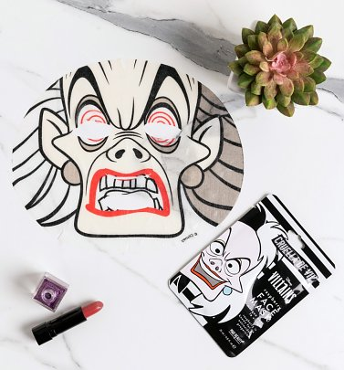 Disney Villains Cruella Sheet Face Mask from Mad Beauty