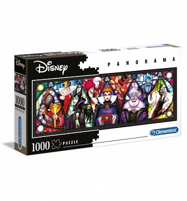 Disney Villains Panorama 1000 Piece Jigsaw Puzzle
