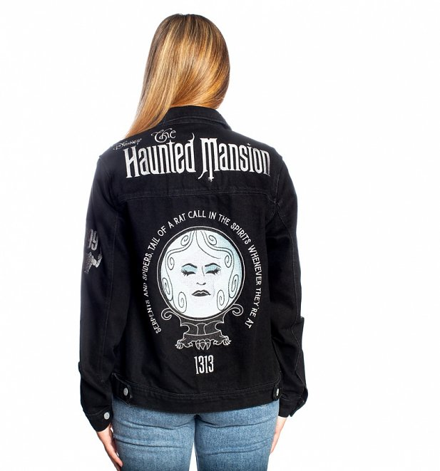 Disney Villains The Haunted Mansion Denim Jacket from Cakeworthy