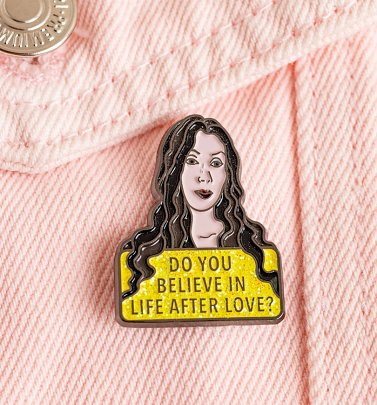 Do You Believe Cher Enamel Pin