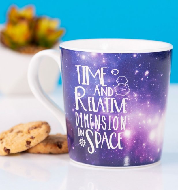 Doctor Who Galaxy Heat Change Mug