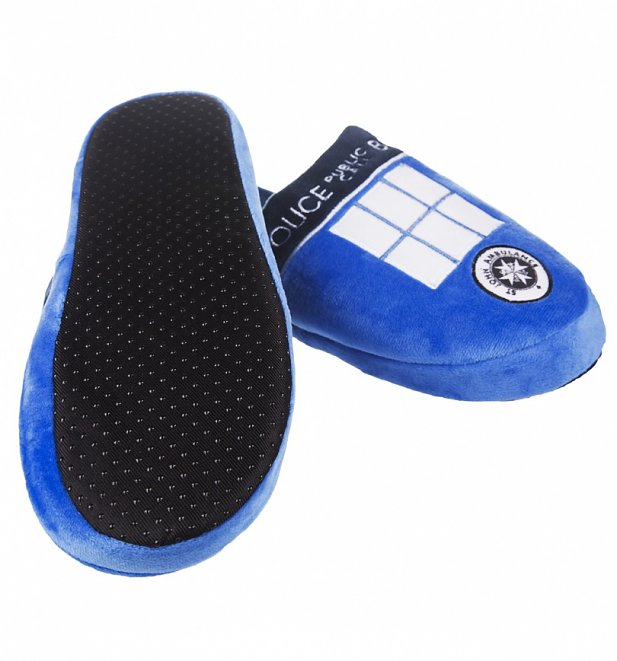 Doctor Who TARDIS Slippers