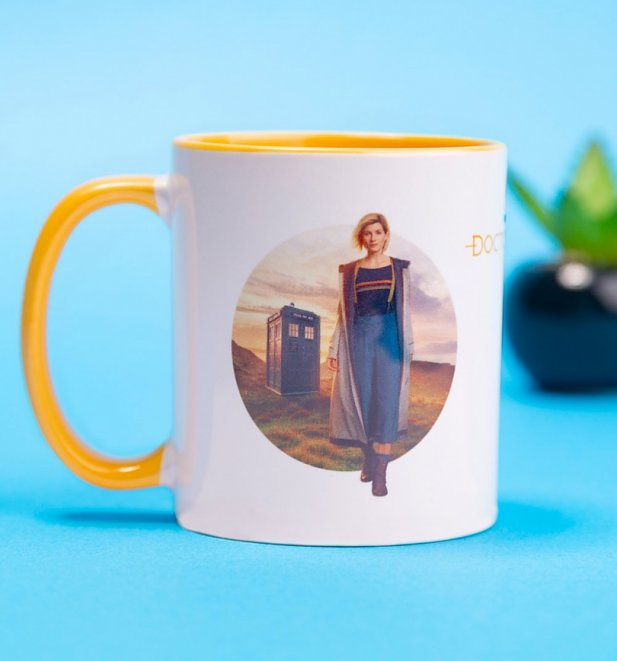 Doctor Who Thirteenth Doctor Coloured Mug