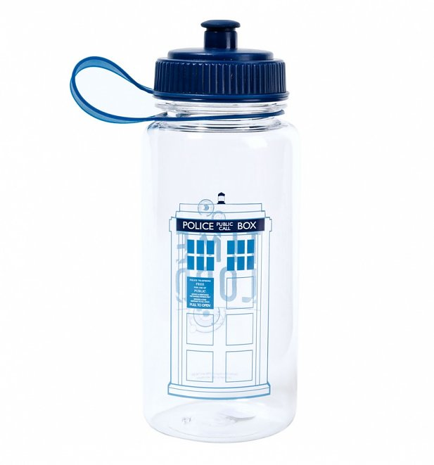 Doctor Who Time Lord Water Bottle