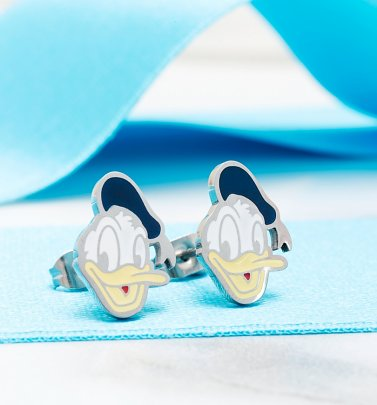 Donald Duck Stud Earrings