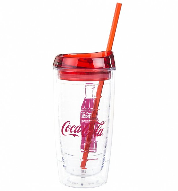 Double Walled Coca-Cola Acrylic Cup