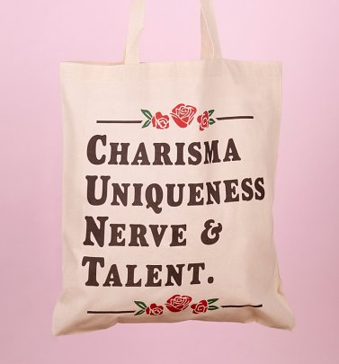 Charisma Uniqueness Nerve And Talent Tote Bag
