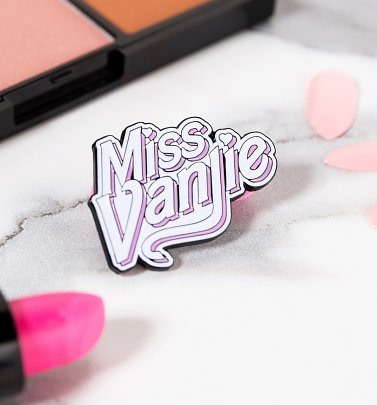 Drag Race Inspired Miss Vanjie Pin Badge
