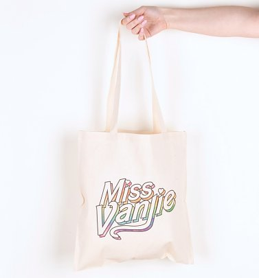 Drag Race Inspired Miss Vanjie Rainbow Tote Bag