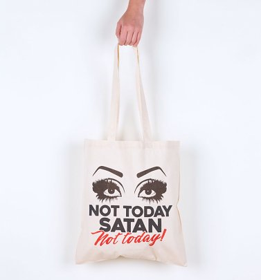 Drag Race Inspired Not Today Satan Tote Bag
