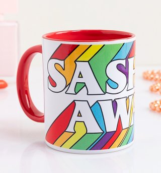 Sashay Away Red Handle Mug