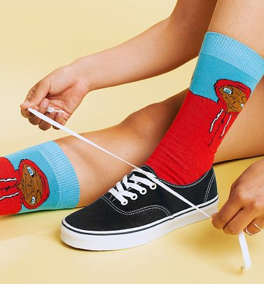 E.T. Hoodie Socks from Dedicated