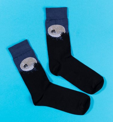 Organic E.T. Moon Socks from Dedicated