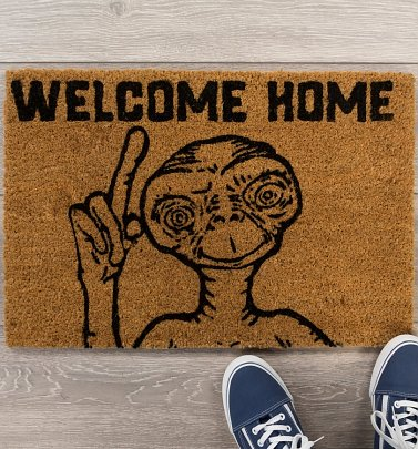 E.T. Welcome Home Door Mat
