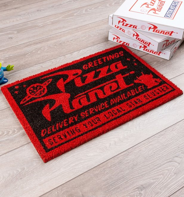 Disney Pixar Toy Story Pizza Planet Door Mat