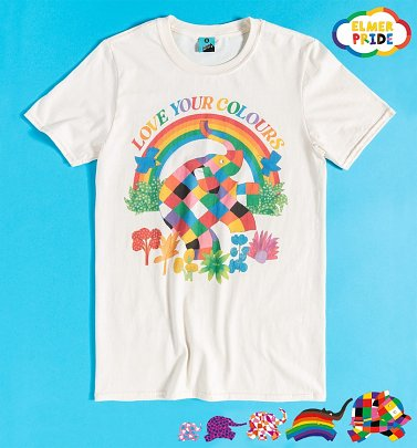 Elmer Love Your Colours Pride Charity T-Shirt