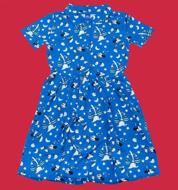 Fantasia All Over Print Button Up Dress from Cakeworthy