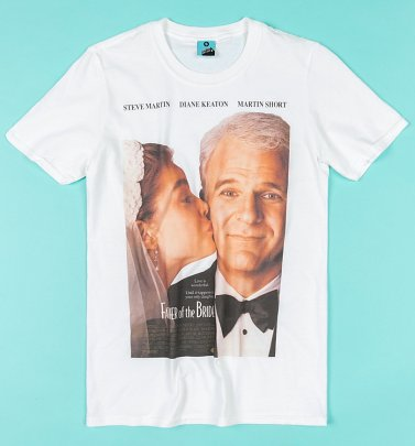 Father Of The Bride Movie Poster White T-Shirt