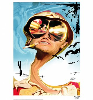 "Fear And Loathing In Las Vegas 11.7"" x 16.5"" Art Print"