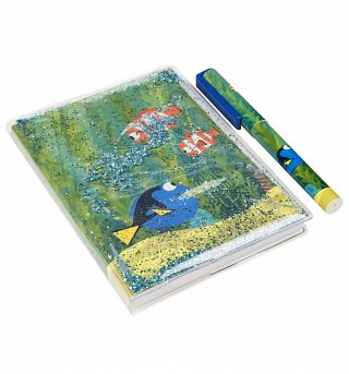 Finding Dory A6 Water-Filled Notebook & Pen Set