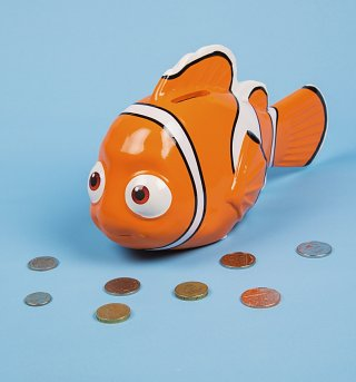 Finding Nemo 3D Money Bank