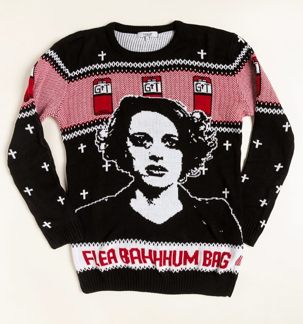 Flea-Bahum-Bag Knitted Christmas Jumper from Not Just Clothing