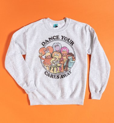 Fraggle Rock Dance Your Cares Away Sweater