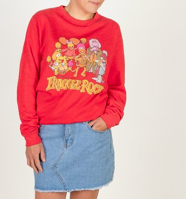 Fraggle Rock Group Red Sweater