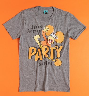 Fraggle Rock Party Shirt Grey Marl T-Shirt