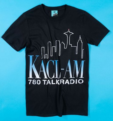 Frasier Inspired KACL-AM Talk Radio Black T-Shirt