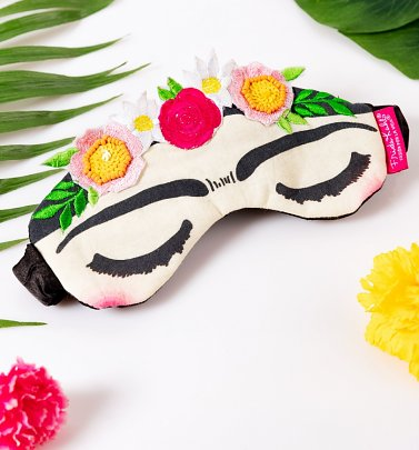 Frida Kahlo Embroidered Eye Mask from House of Disaster