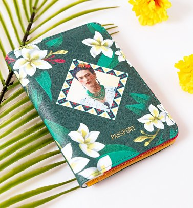 Frida Kahlo Passport Holder from House Of Disaster