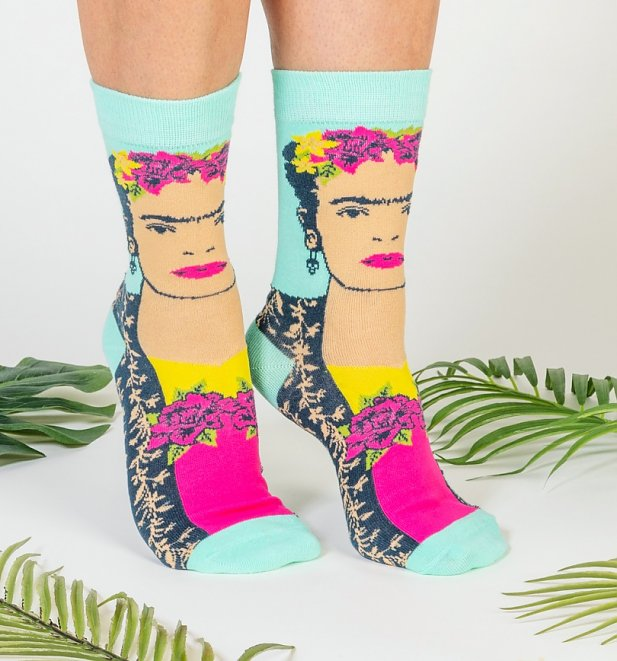 Frida Kahlo Socks from House Of Disaster