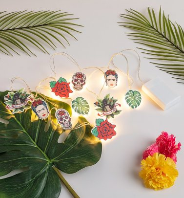 Frida Kahlo String Lights from House Of Disaster