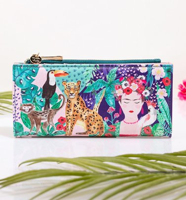 Frida Kahlo Tropical Wallet from House Of Disaster