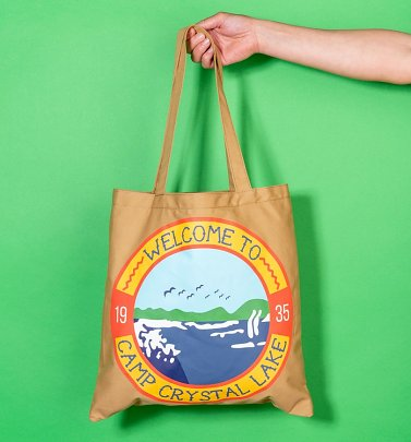 Friday The 13th Camp Crystal Lake Tote Bag