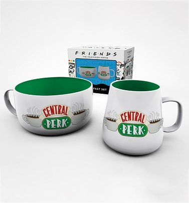 Friends Central Perk Breakfast Set