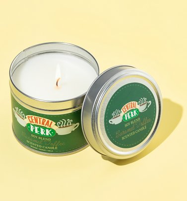 Friends Central Perk Tin Soy Candle