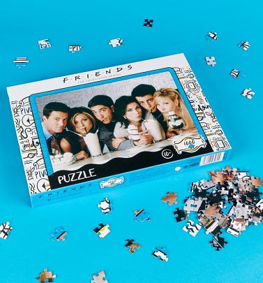 Friends Milkshake 1000 Piece Jigsaw Puzzle