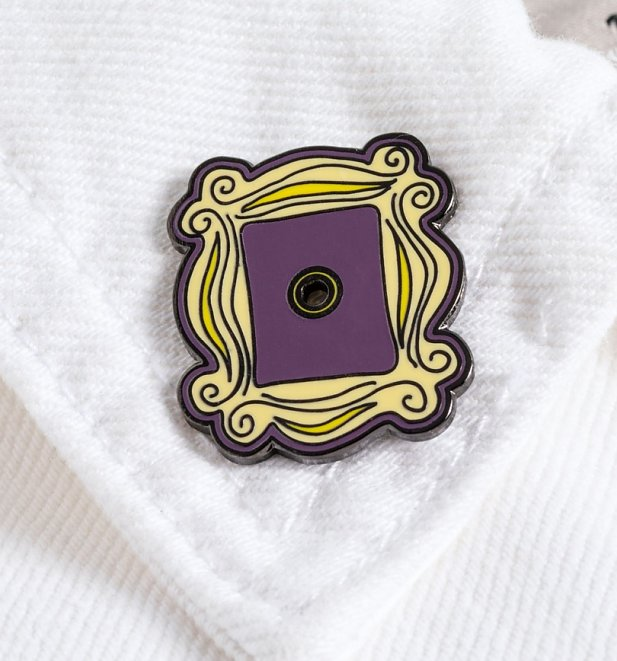 Friends Picture Frame Enamel Pin Badge