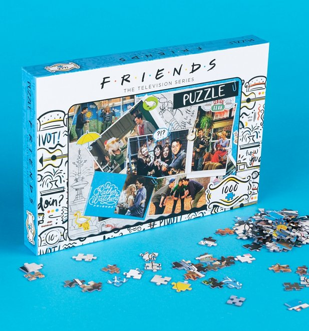 Friends Scrapbook 1000 Piece Jigsaw Puzzle
