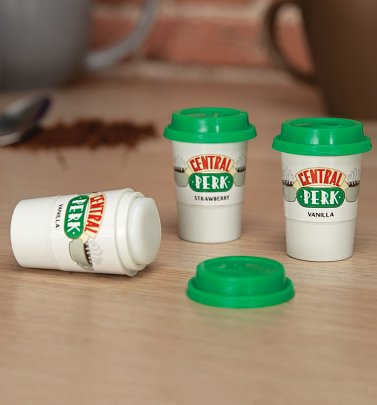 Friends Set Of Three Central Perk Lip Balms